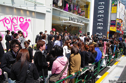Forever 21 Harajuku Opening Day Pictures