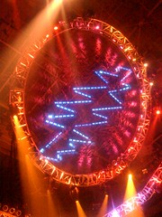 The Dead lightning bolt in lights at Verizon Center, Washington, D.C. 4/14/09