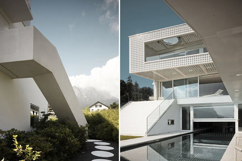 O House Exterior Design Idea by Philippe Stuebi, Modern Exterior Design, Exterior Design