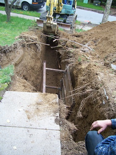 15 foot trench