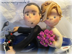 Shelly & Max (marytempesta) Tags: brides caketoppers weddingcaketopper mmilikeit