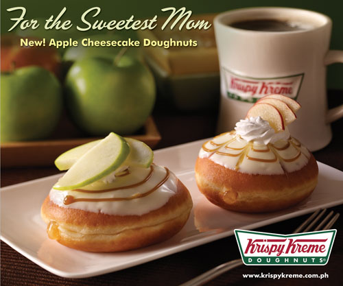 apple cheesecake doughnuts