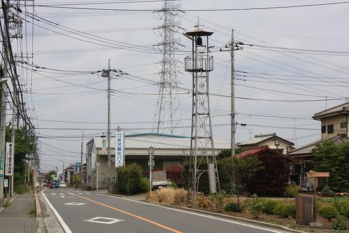 南永井下組の火の見櫓