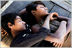 So, you're looking for happiness? [..Dhaka, Bangladesh..] (Catch the dream) Tags: sleeping children eyes hands peace child sleep bongo dream peaceful happiness dreaming tired dhaka moment tiredness bengal bangladesh bangla closedeyes bengali bangladeshi labors olddhaka toil daylaborers shadarghat gettyimagesbangladeshq2