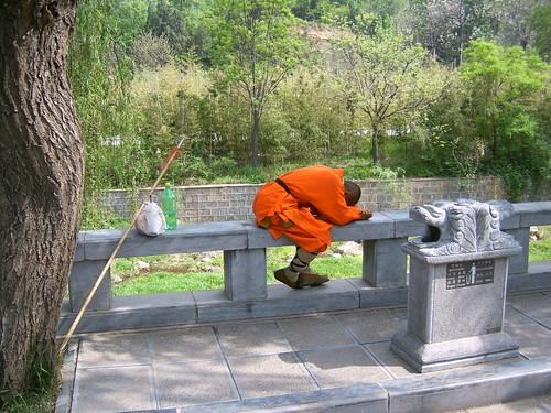 Sleeping Shaolin