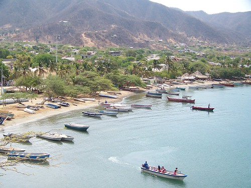 Taganga Bay, Caribbean coast of Colombia