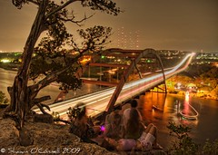 Youth (Shawn O'Connell Photography) Tags: longexposure bridge cliff water youth austin nikon texas young austintexas hdr picnik 360bridge pennybackerbridge d90 top20texas shawnoconnell shawnoconnellphotography