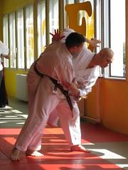 Marko wirft O-Goshi während des Seminars in Reichenbach