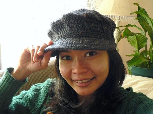 Crochet Swirls Cap