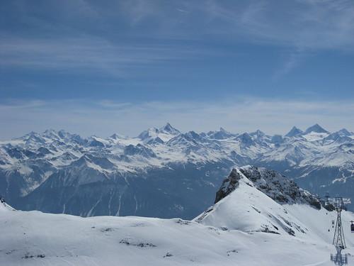 top of crans-montana