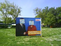 Wahlkampf mit Gesichtern