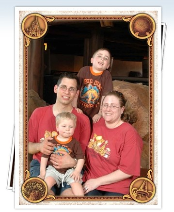 Family at Animal Kingdom Lodge