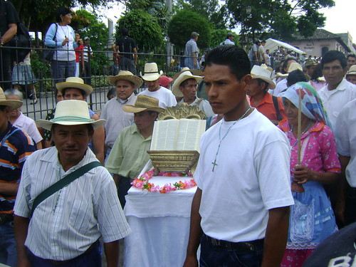 The diocese of Santa Rosa de Copán, Honduras, began the Continental Mission