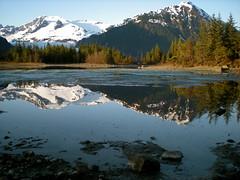 Mendenhall lake & glacier. AKA alaska is the greatest place on earth. no joke.