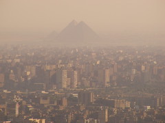 City and History- Cairo - Egypt (SallyNomad) Tags: city fuji cairo pyramids crowded overpopulated s5800