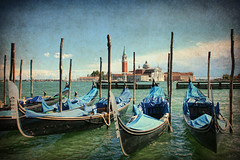 Gondolas, Venezia (sminky_pinky100 (In and Out)) Tags: city travel venice italy classic tourism beautiful europe pretty scenic canals destination historical expensive picturesque gondolas blueribbonwinner bej omot coloursofthesoul eyejewel betterthangood theperfectphotographer damniwishitakenthat personabest bestofdamniwishidtakenthat