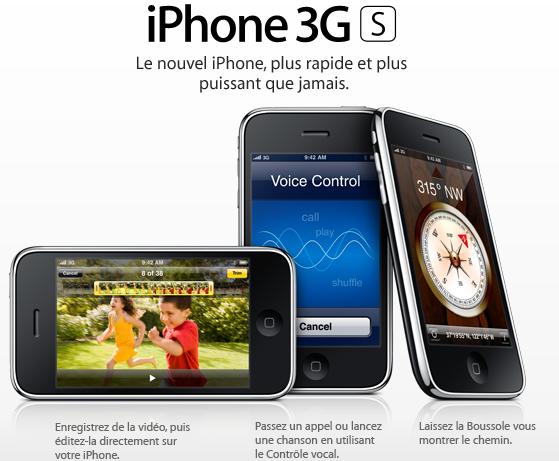 iPhone 3GS Presentation