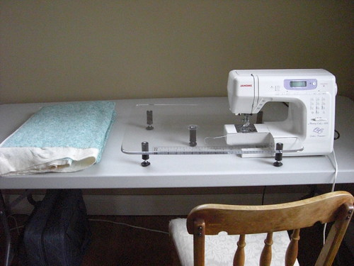 Clean Sewing Area