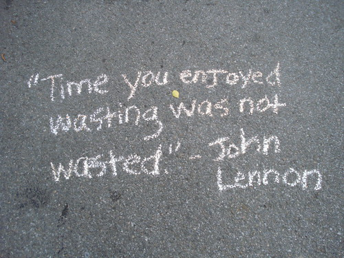 John Lennon quote on Museum Mile