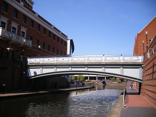 Brindley Place - Deep Cutting Rover Bridge