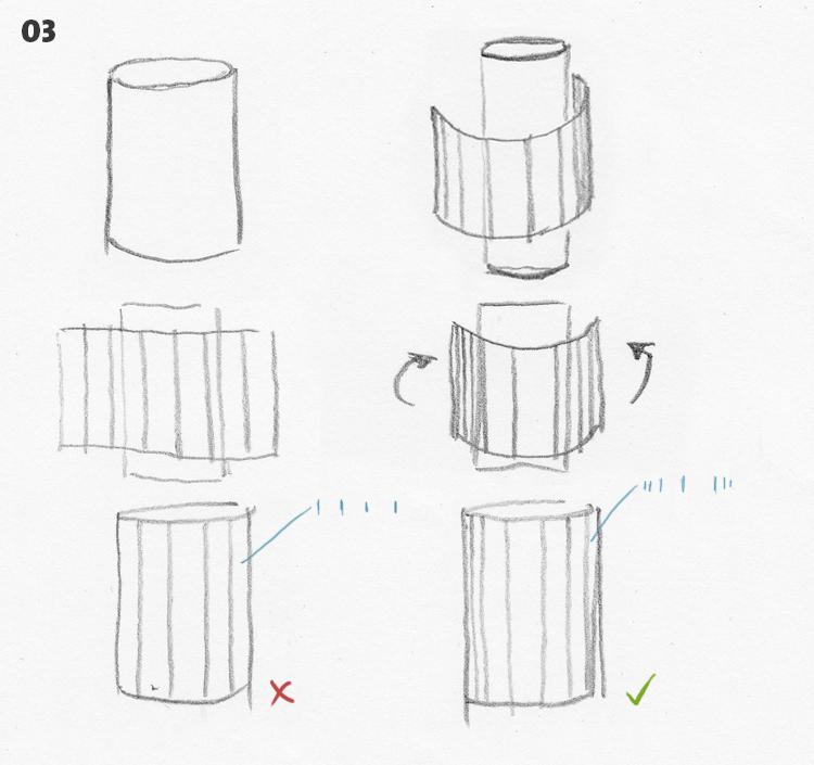 strichführung - zeichnen - 03