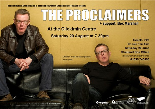 Proclaimers poster