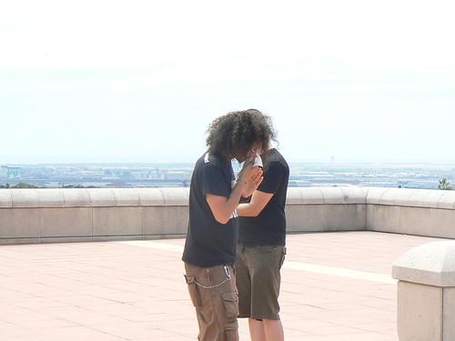 BCN, bacio romantico