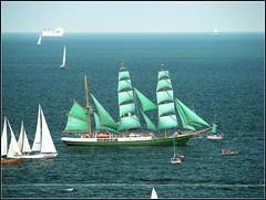 The Tall Ships' Races Gdynia 2009 - Alexander von Humboldt (aga_urb) Tags: sea water germany wind yacht ships poland baltic deck sail tall hull races 2009 pomerania gdynia sailng alexandervonhumboldt pomorze żaglowce thetallshipsracesgdynia2009