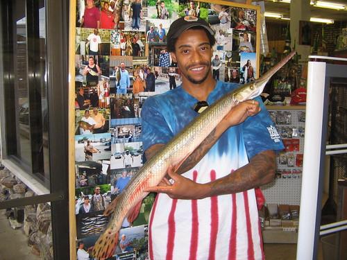 shortnose gar 8-20-2009 007