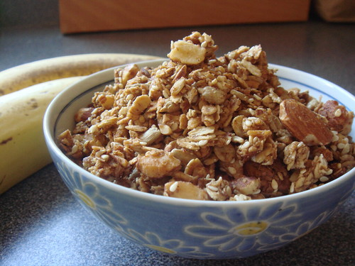 Banana Maple Granola