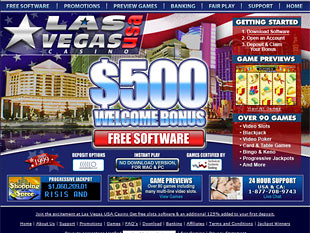 Las Vegas USA Casino Home