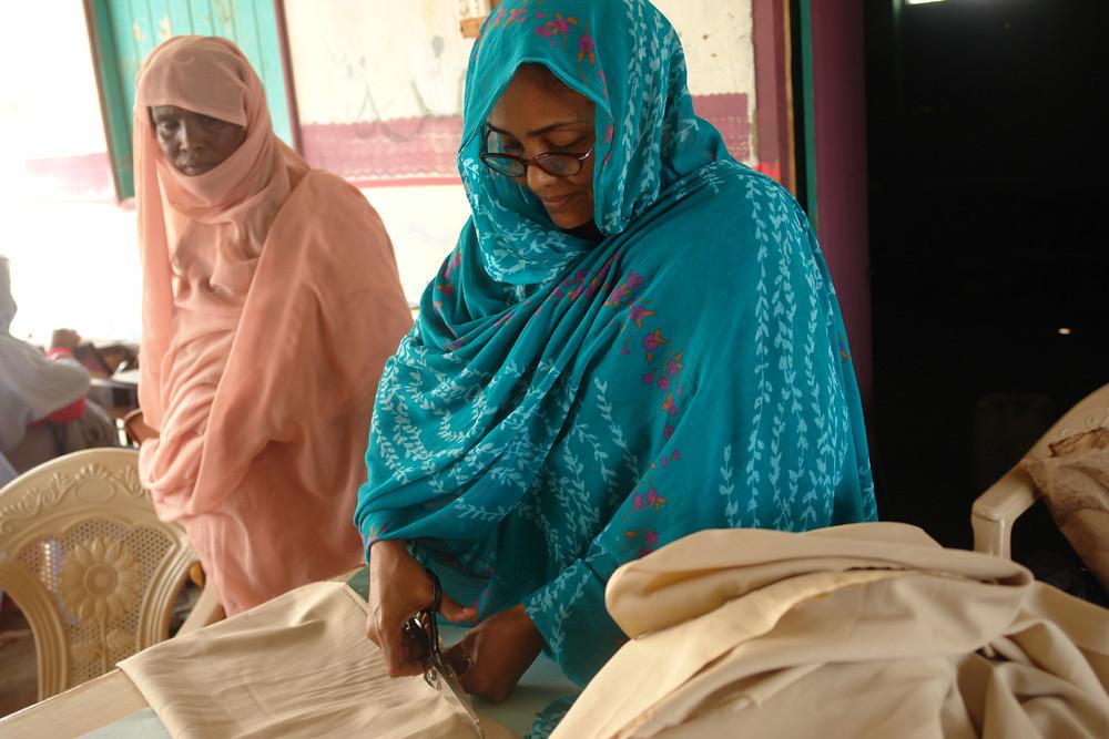 Women at Diem Arab Centre, Port Sudan, Red Sea State.
