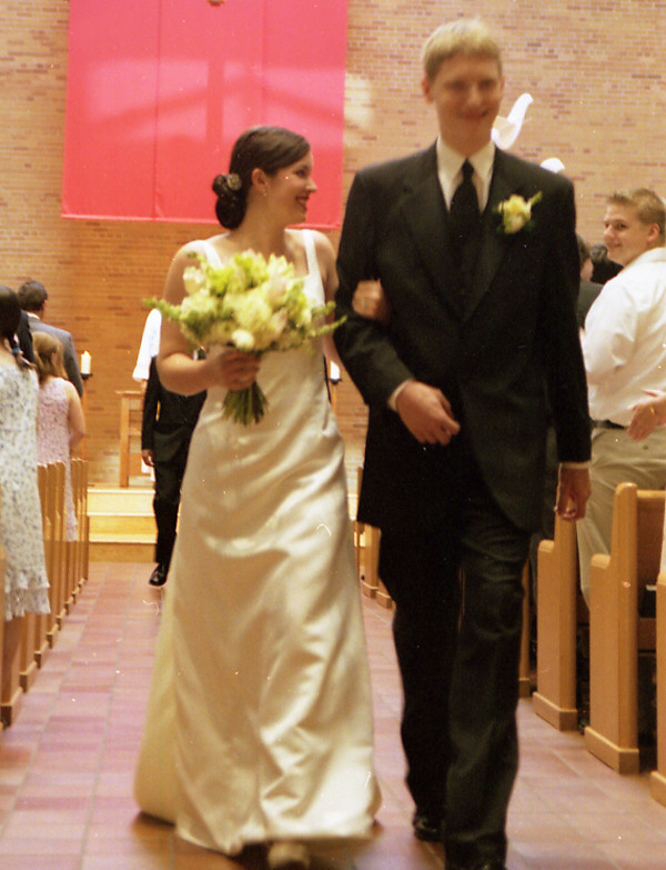 Wedded June 2003
