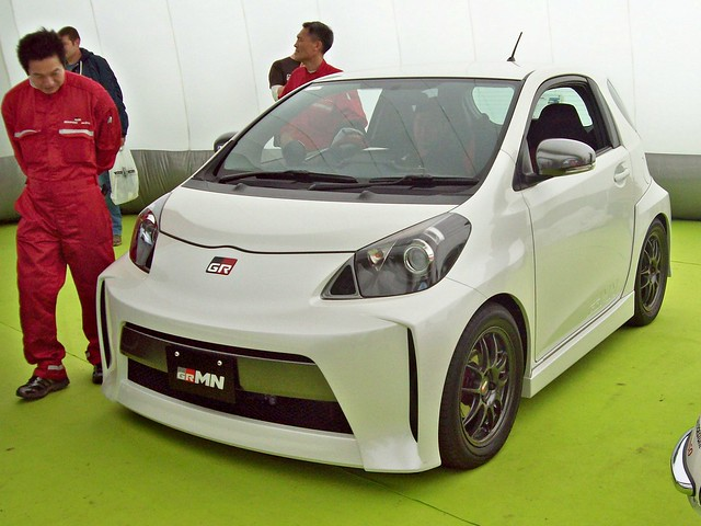 japan toyota 2010s gazooracing iqscion