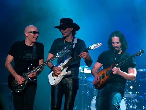 Steve Vai and Joe Satriani