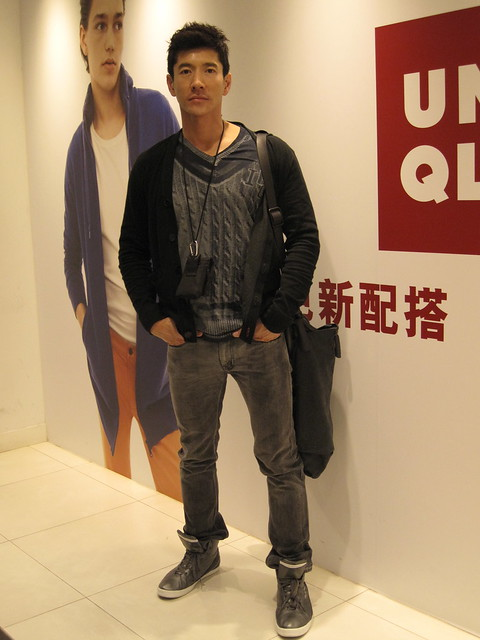 Cedric at Uniqlo