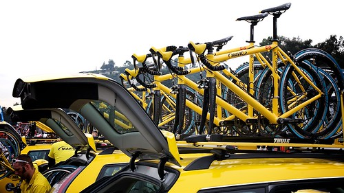 Mavic Team Cars