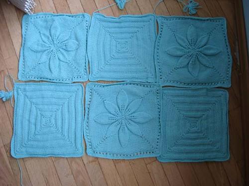 Yaprakl� bebek battaniyesi modelleri