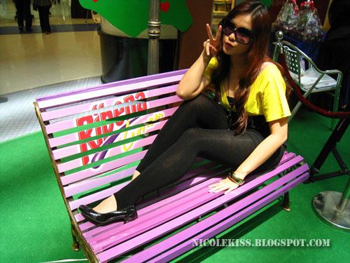me on ribena bench