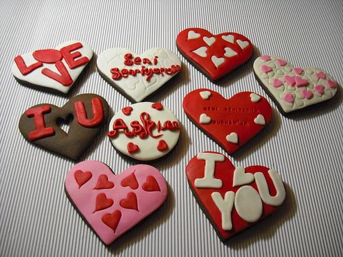 Sevgi kurabiyeleri 2