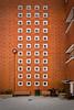 Waiting... (janbat) Tags: light orange man paris wall bench garbage nikon waiting lumière tokina brique d200 mur f4 hombre banc montreuil homme poubelle 1224 robespierre attente attendre poche sacplastique jbaudebert