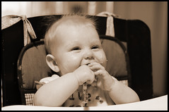 Learning to Eat Baby Food is a Challenge