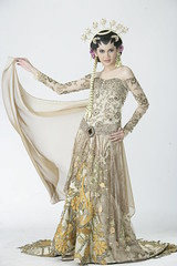 Javanese (Indonesian) Wedding Gown