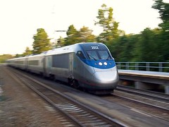 The Acela Express, south of Baltimore (by: Tim Gilliam, creative commons license)