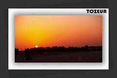 Sunset in Tozeur (the desert). Atardecer in tozeur (el desierto) (AITANA64) Tags: sunset sun sol atardecer de