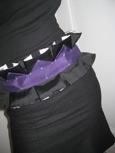 Obi-style belt