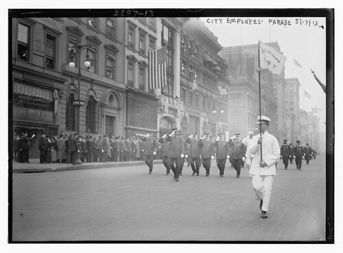 City Employees' parade (LOC)