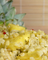 Ananas-Bulgur-Salat