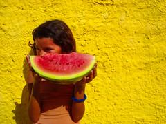 {brasil} (nara rocha) Tags: brazil yellow brasil watermelon melancia amarelo brazilianchildren