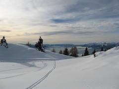 traces to clouds... (Blue Spirit - heart took control) Tags: mountain snow clouds nuvole traces neve montagna belluno tracce nevegal explored buonadomenica ripescaggi scattifotografici aspettandoilmareunaltroomaggioallaneve